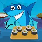 Акула готовит суши