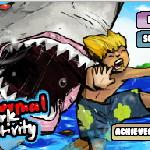 Спастись от акулы