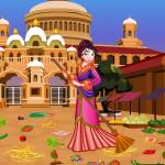 Принцесса Мулан: Уборка на рынке