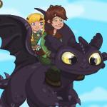 Как приручить дракона: Несчастный случай на болоте