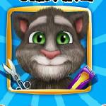 Говорящий кот: Малыш Том бреется