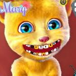 Говорящий кот Рыжик у дантиста