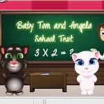 Кот Том и Анжела: Школьный тест