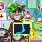 Говорящий кот Том: Крушение на велосипеде