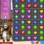 Кот Том матч драгоценностей