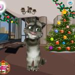 Говорящий кот Том: Подготовка к новому году