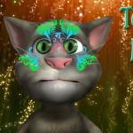 Кот Том: Живопись на лице