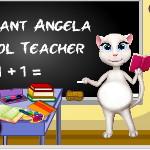 Беременная Анжела: Учительница в школе