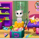 Малышка Анжела: Уборка в комнате