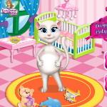 Беременная Анжела: Декор в детской комнате