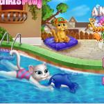 Анжела: Плавательный бассейн