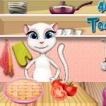 Анжела: Томатный пирог