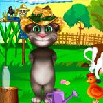Говорящий кот Том: Фермерский день