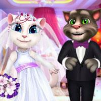 Том и Анджела: Свадебный поцелуй