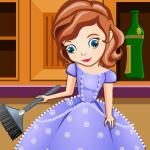 Уборка на кухне принцессы