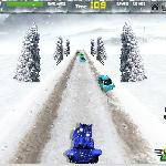 Снежная гонка Соника