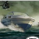 Скоростная лодка: Стрельба