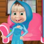 Маша — Одевалка в стиле Холодное Сердце