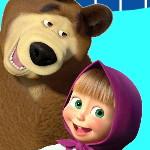 Украшение комнаты с Машей и медведем