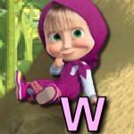 Английский алфавит с Машей