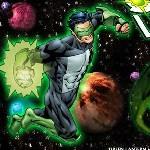 Зелёный фонарь в космосе