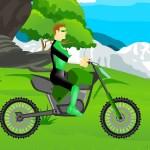 Зелёный фонарь: Мотоциклист