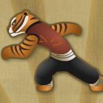 Прыжки тигрицы