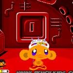 Счастливая обезьянка в космосе 2