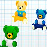 Посчитай медведей