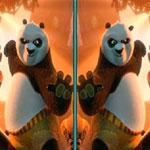 Поиск отличий Кунг-фу панда