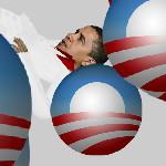 Обама на шарах