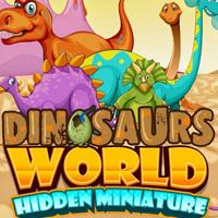 Поиск фигурок динозавров