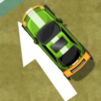 Парковка крутой машины