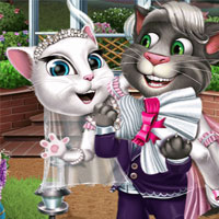 Свадьба кота Тома и кошки Анжелы