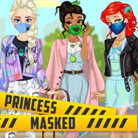 Принцессы в масках