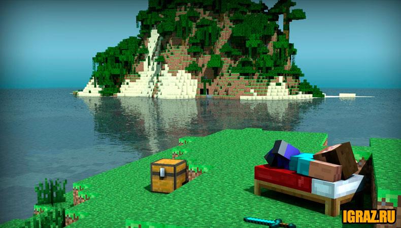 Игры Майнкрафт играть онлайн и бесплатно на Igraz.ru
