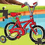 Пазл велосипед