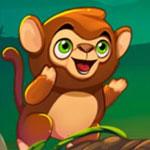Пузыри с обезьянкой