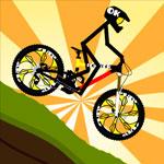 Человечек на велосипеде