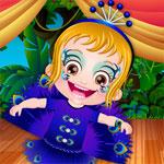 Одевалка маленькой девочки