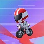 Гоночный заезд на мотоциклах