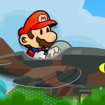 Марио на самолете