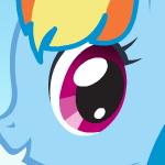 Стильная Радужная Пони