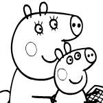 Свинка Пеппа и Мама Свинка