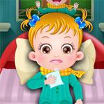 Малышка заболела