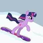 Пони Катание На Сноуборде