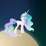 Пони Космическая Игра в Гольф