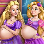 Беременные Барби и Рапунцель