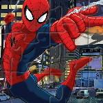 Пазл супергероя Человека-Паука