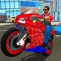 Мотоцикл человека-паука